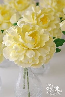 Oh I Love this flower! justcallmegrace: yellow peony