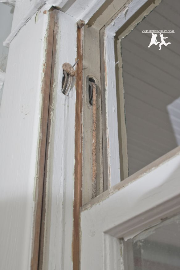 Old House Crazy - How to Restore Pulley Windows - DIY - 07