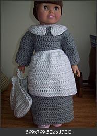 Free crochet pattern - Pilgrim outfit