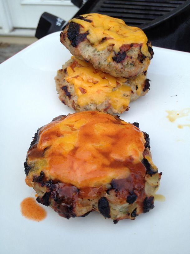 Buffalo Ranch Burgers == Tastefully GF | Meals - Burgers, Patties ...