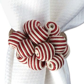 perfect for christmas!  Juliska Stripe Bead Bouquet Napkin Ring | Bloomingdale's