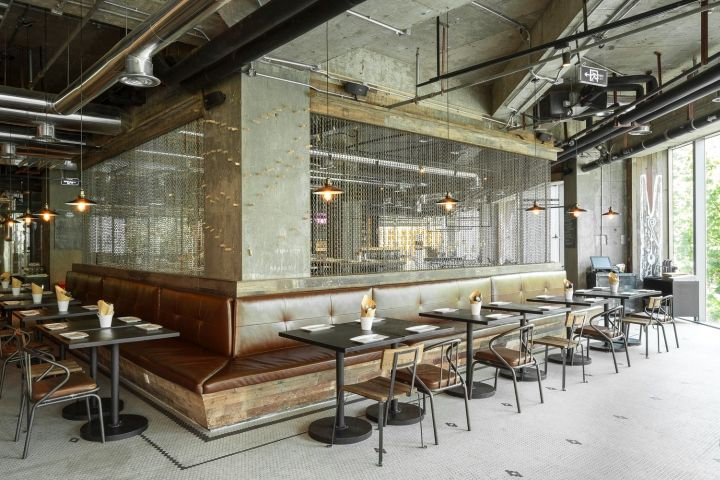 Liquid Laundry Gastropub by Hannah Churchill, Shanghai China restaurant lounge bar #Shanghai #DesignShanghai