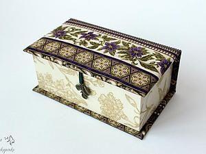 Создаем чудесную шкатулку для украшений | Ярмарка Мастеров - ручная работа, handmade