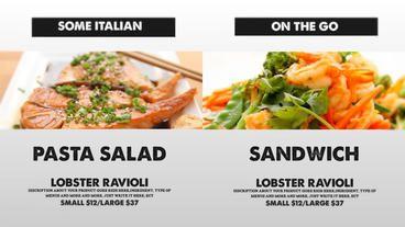 Vintage Food Menu - Restaurant Display /Digital Signage/ After Effects Template…