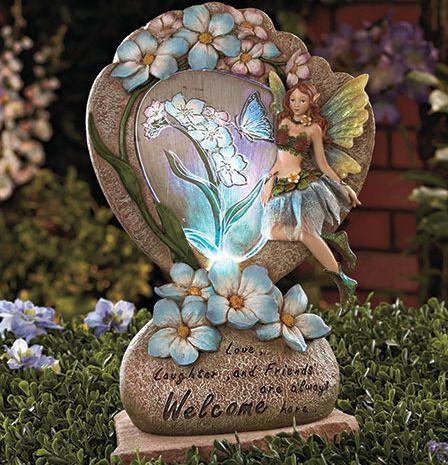 Solar Garden Statues Fairy Garden Decor New17 best Fairy Garden 8 images on Pinterest   Fairies garden  Mini  . Fairy Garden Ornaments Ireland. Home Design Ideas