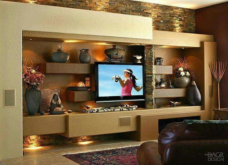 Custom Home Entertainment Centers Media Walls Phoenix AZ