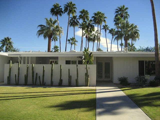Another Mid Century Modern House In Palm Springs