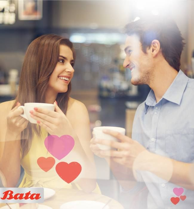 Love is putting on your heels and makeup even when you are just catching up on coffee. #AllForYou #WithLoveFromBata