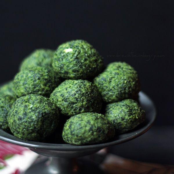 Cheesy Spinach Puffs -  Mellissa Sevigny