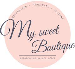 MySweetBoutique  Jolis paquets, boites, pailles, bouteilles & déco fêtes