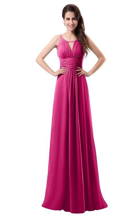 80005b5891ff Bridesmaid Dresses Cabaret color în 2019   Domnișoare de onoare ...