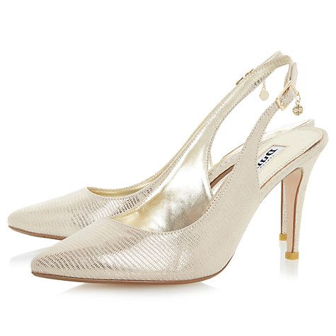 Buy Dune Cathy Slingback High Heel Court Shoes Online at johnlewis.com