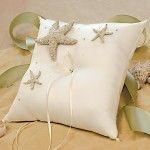 cuscino portafedi stelle marine