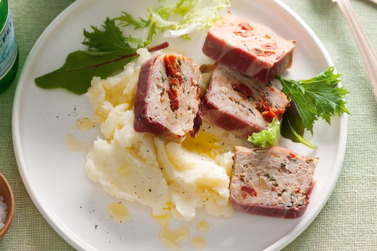 Take the family on a global tour with these Italian-inspired meatloaves.