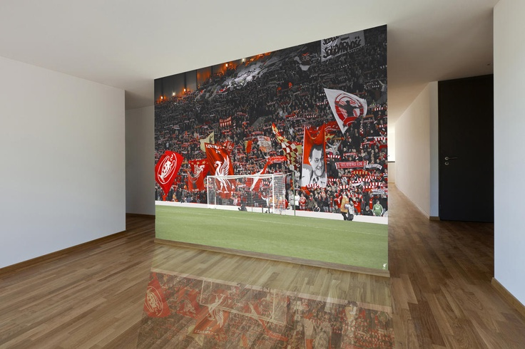 17 best images about sportswalls liverpool fc on pinterest for Create your own mural wallpaper