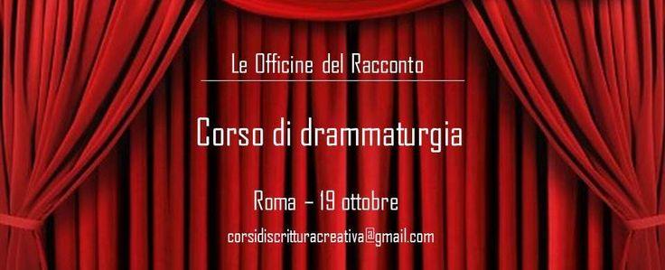 Corso di drammaturigia - Livello base (Roma)