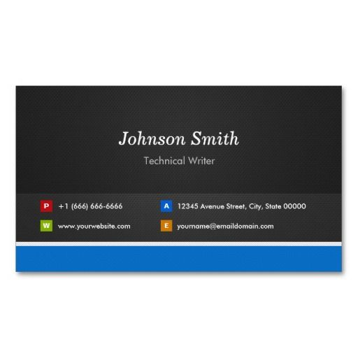 235 best technical writer business cards images on pinterest technical writer professional customizable business cards colourmoves