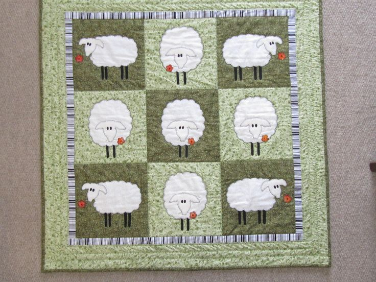 1000+ images about Quilts with sheep theme on Pinterest ...