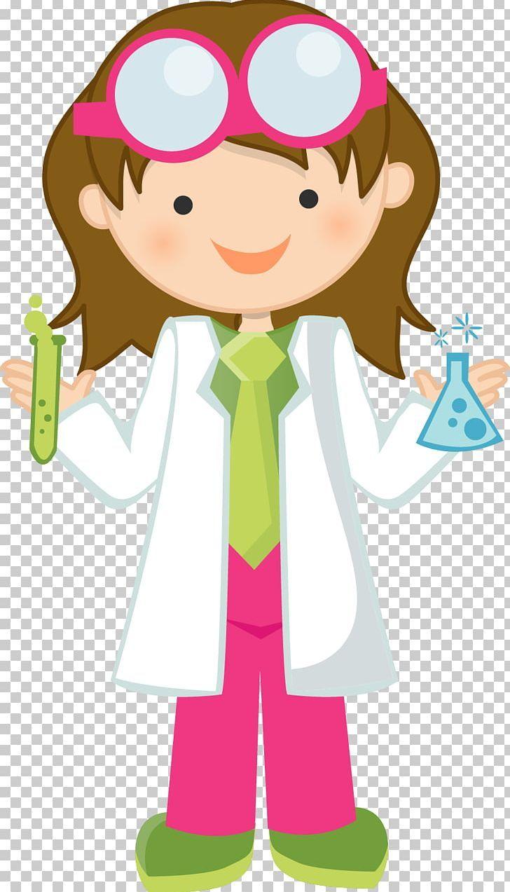 Mad Scientist Science Girl Png Art Boy Cartoon Cheek Child Science Girl Mad Scientist Scientist