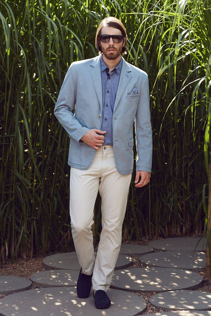 ROY kolekcja wiosna lato 2016; marynarki, koszule, spodnie męskie.