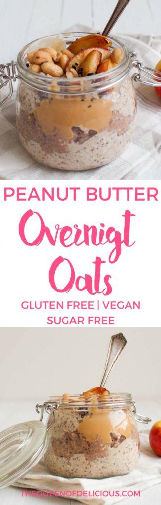 Overnight Oats | Healthy Breakfast | Gluten free | Sugar free | Vegan