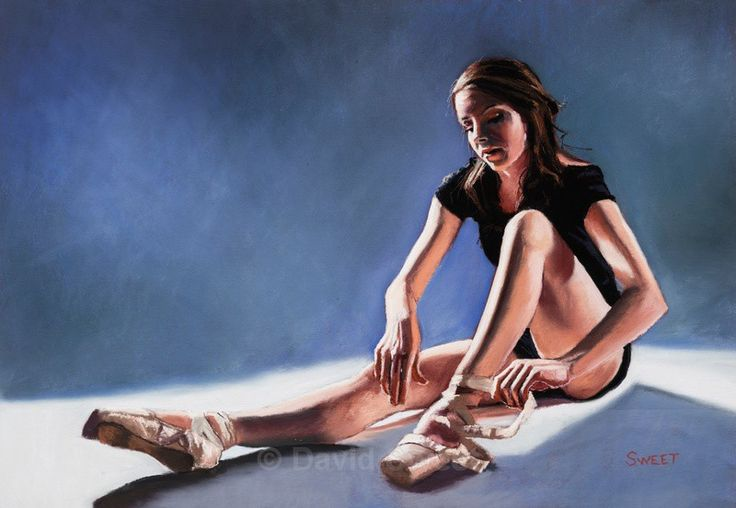 Ballet Shoes - Paintings