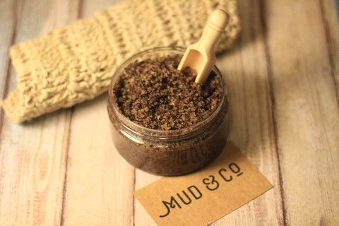 """Coffee Addict!!"" Coffee and Sugar Scrub"