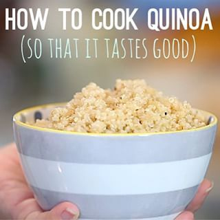 The quinoa craze may have passed, but it's still a great, family go-to thanks to its high protein content... IF you cook it correctly. Our foolproof method on the site today churns out fluffy, mild quinoa without any bitter, smoky flavor. It's downright kid-friendly.