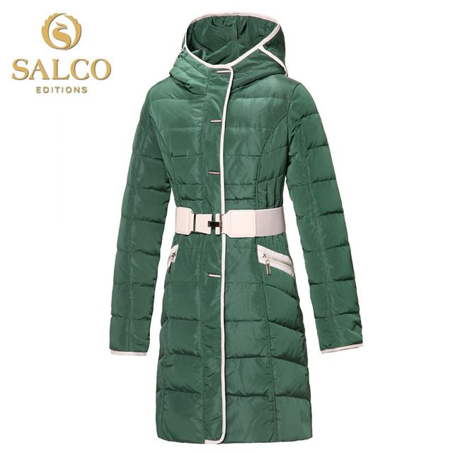SALCO Free shipping new European premium women's fashion hooded down jacket and long sections US $56.00 /piece To Buy Or See Another Product Click On This Link  http://goo.gl/IdJFhm