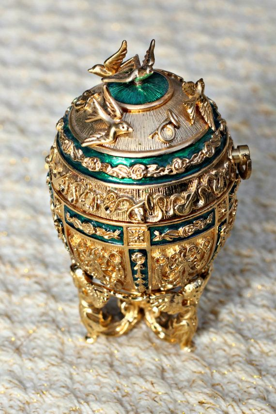 Complete Set of Joan Rivers Imperial Treasures Faberge Style Eggs by 2SHOPBOOTH54, $320.20