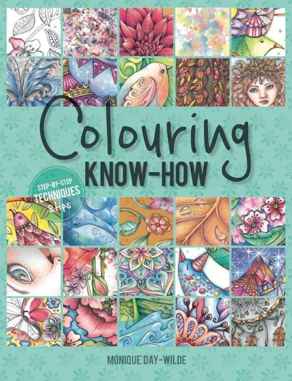 Adult colouring Monique Day-Wilde Colouring Know How