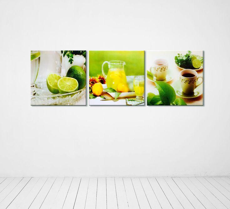 Modern Kitchen Wall Decor 8 best modern kitchen canvas wall decor coffee art images on
