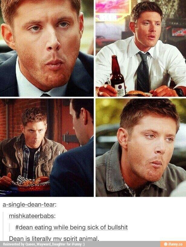 Dean is my spirit animal