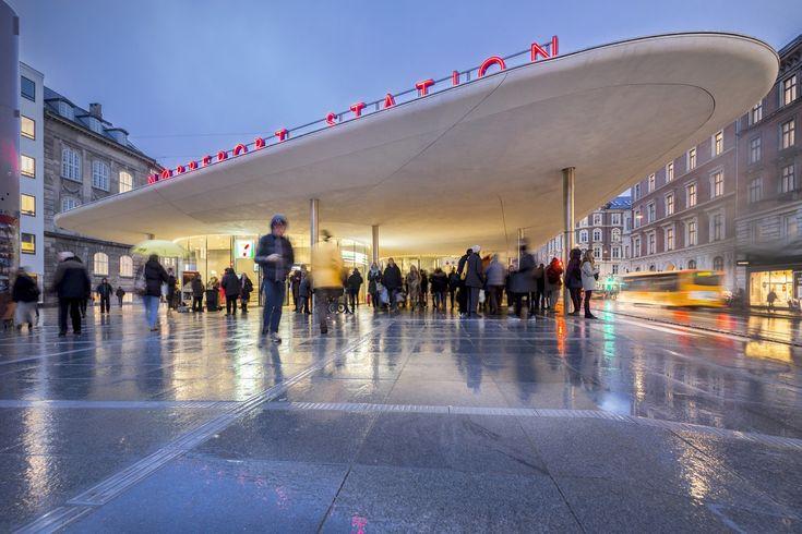 Gallery of Nørreport Station / Gottlieb Paludan Architects + COBE Architects - 3