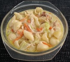 Filipino Chicken Macaroni Soup Recipe