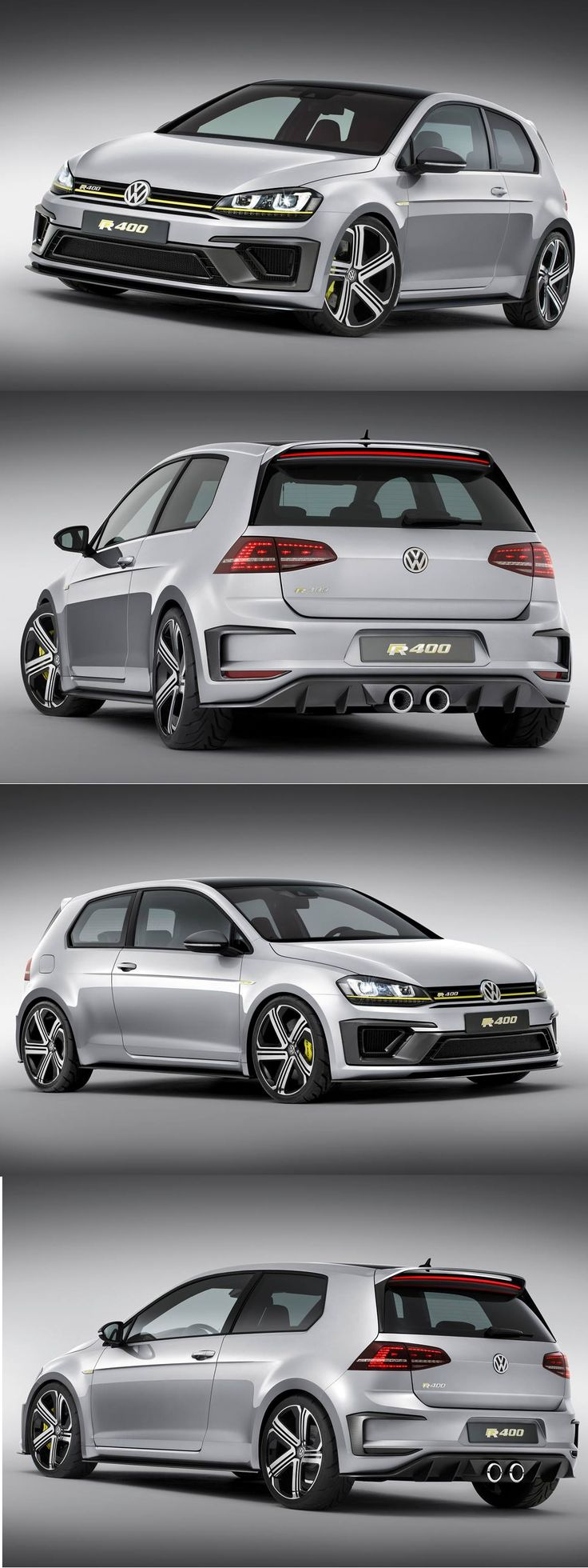 VW'S new Golf R400! Honestly an amazing car, with a 2.0 litre engine it is able to put out 395bhp and get from 0-62mph in 3.9 seconds!