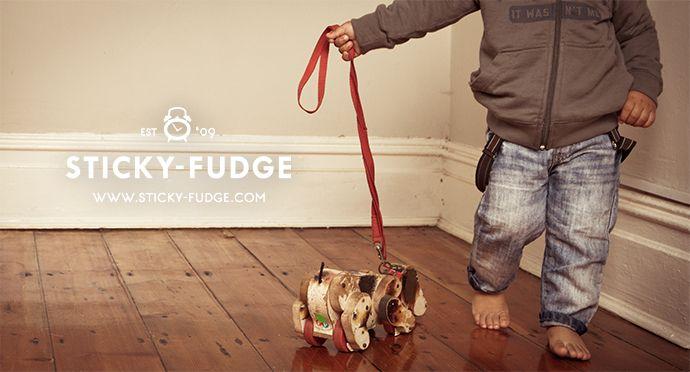 Sticky-Fudge Spring '13/14 #vintage #boys #hoodie #denim