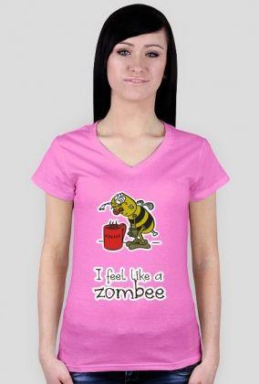I feel like a zombee