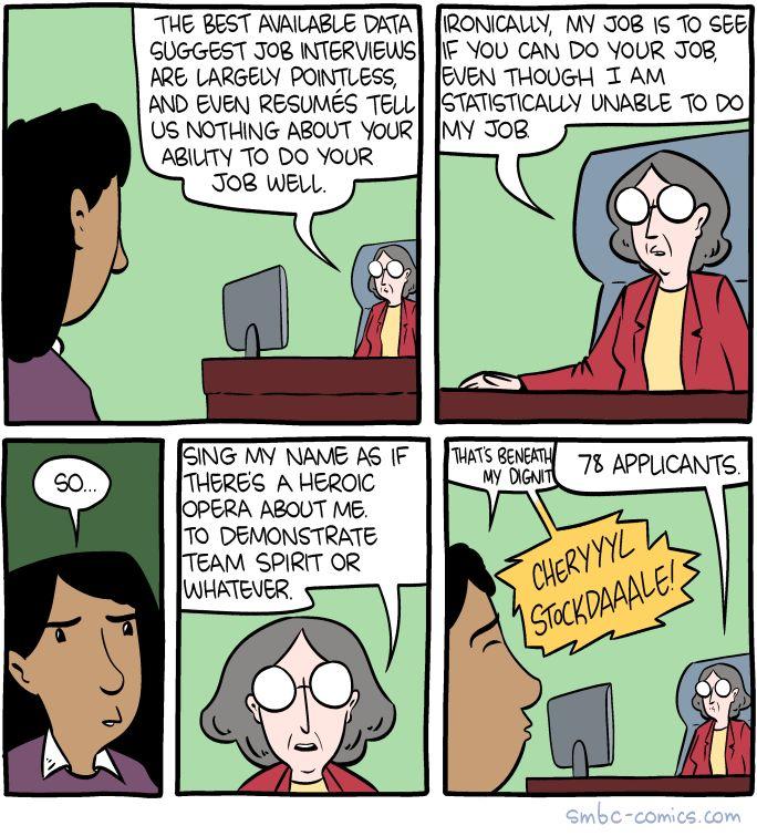 Job Interviews : funny