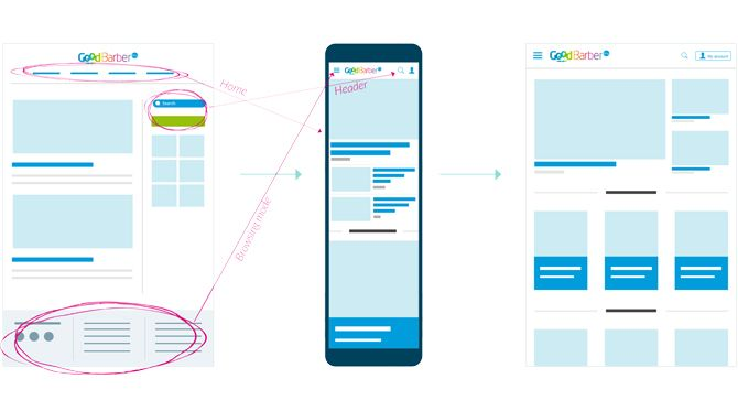 What's new with GoodBarber 4.0? → The Web App UI