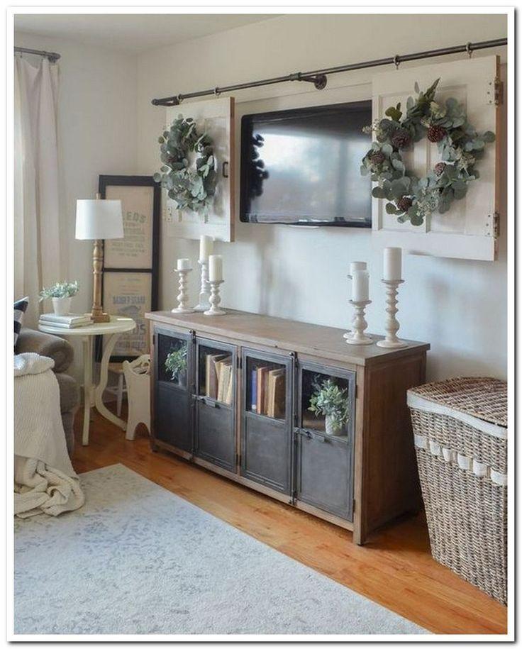 39 Beautiful Farmhouse Tv Stand Design Ideas And Decor
