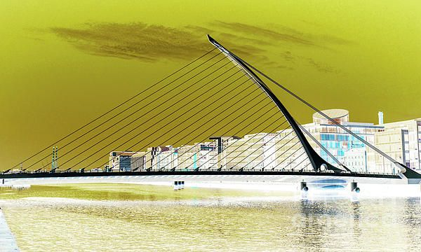 Samuel Beckett Bridge Dublin, Ireland. Visit my photo gallery and get a beautiful Fine Art Print, Canvas Print, Metal or Acrylic Print OR Home Decor products. 30 days money back guarantee on every purchase so don't hesitate to add some Irish Magic in your home or office.