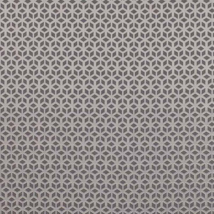 Warwick Fabrics : LOUIS, Colour EBONY
