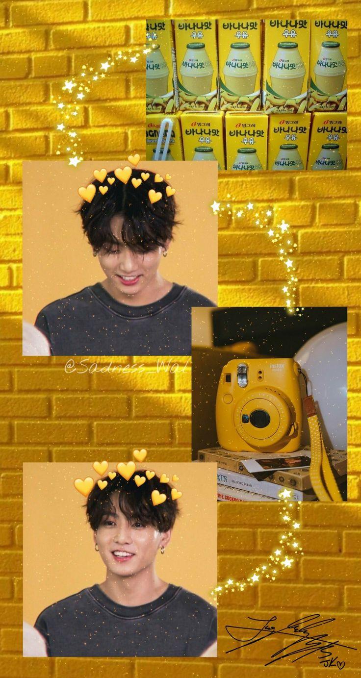 Jungkook aesthetic BTS collage Чонгук коллаж обои ...