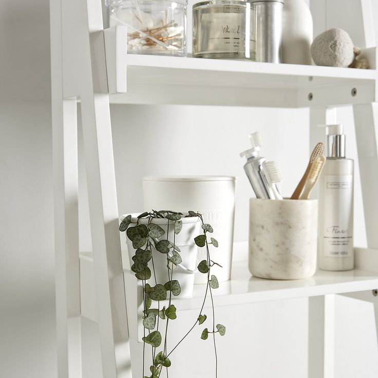 Bathroom Ladder Shelf | The White Company More Part 70