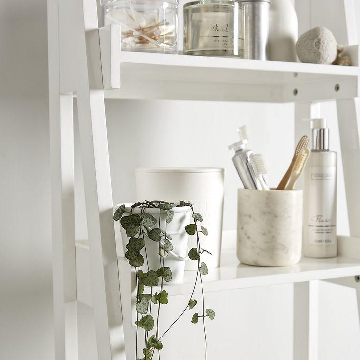 25 best ideas about bathroom ladder shelf on pinterest for Bathroom ladder shelf
