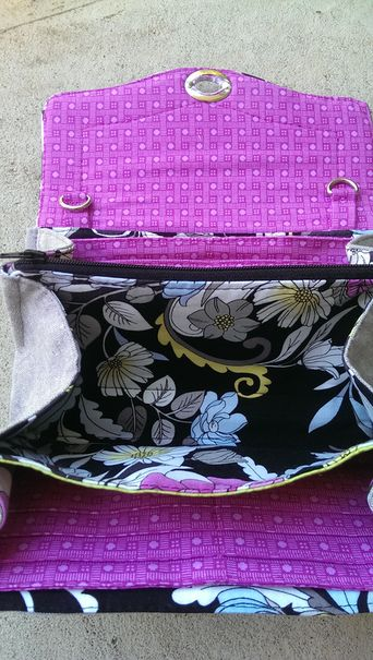 Necessary clutch wallet sew-a-long in 5 tutorials.