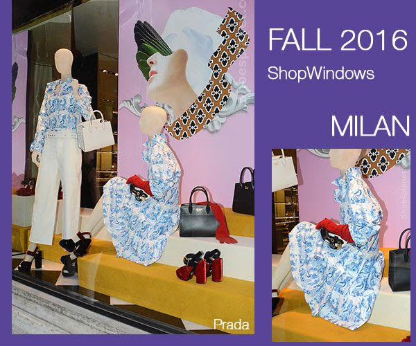 StyleFile: In the stores FALL 2016 - SHOP WINDOWS - Milan
