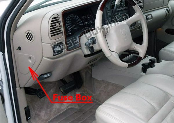 Pin on Cadillac Escalade (GMT 400; 1999-2000) fuses and relaysPinterest