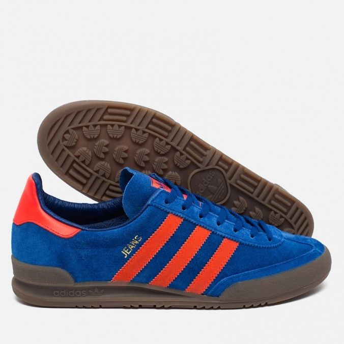 adidas Originals Jeans Trainers Royal Blue/Solar Red. Article S79995.  Release: 2016